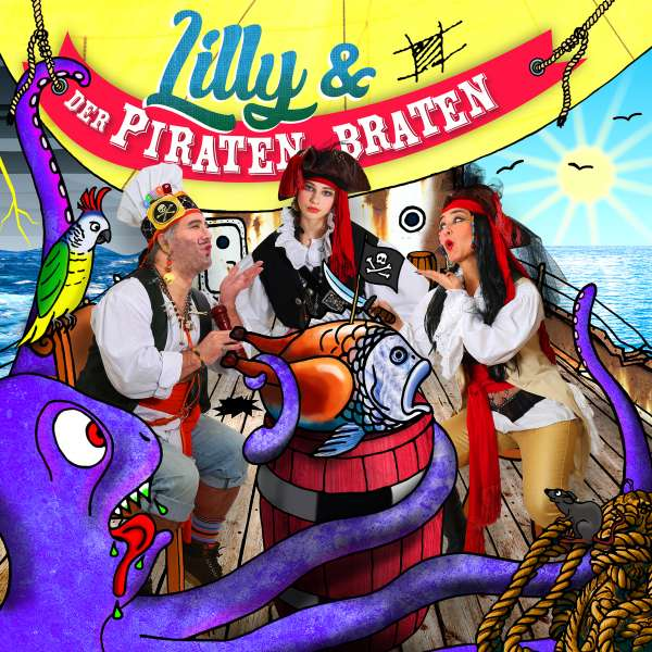 CD cover Lilly & Piratenbraten