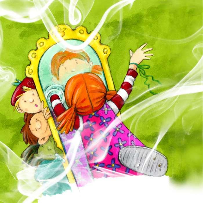 Lilly und der magische Spiegel